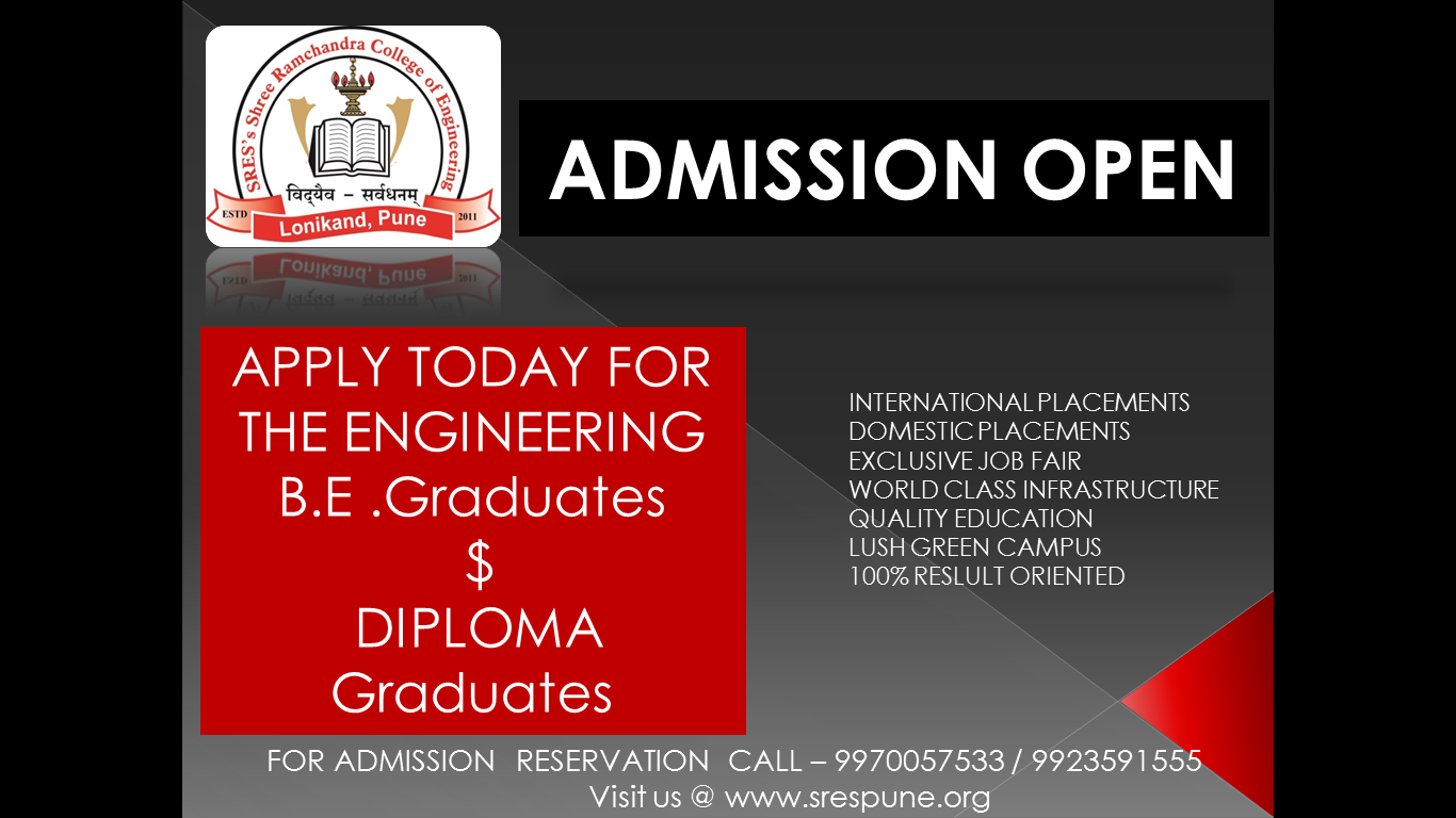 home best engineering colleges in pune sres admission open