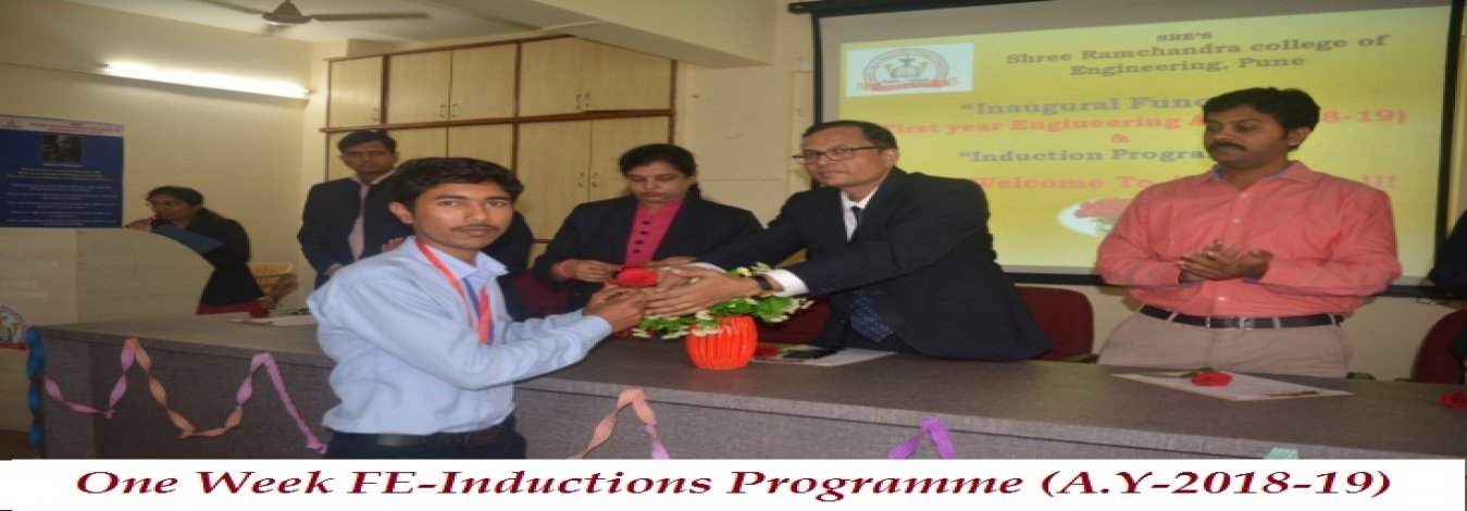 FE-Inductions Programme (AY-2018-19)